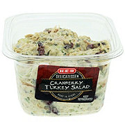 H-E-B Chef Prepared Foods Cranberry Turkey Salad, sold by the