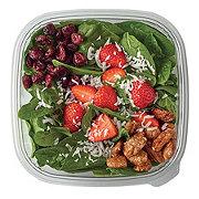 H-E-B Chef Prepared Salads Strawberry Honey and Roasted Pecan Salad