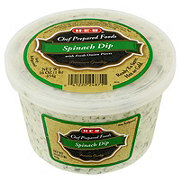H-E-B Chef Prepared Spinach Dip