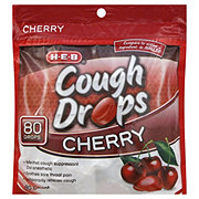H-E-B Cherry Cough Drops