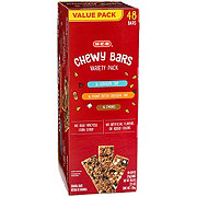 H-E-B Chewy Bars Variety Value Pack