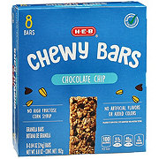 H-E-B Chewy Chocolate Chip Granola Bars