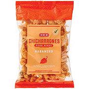 H-E-B Chicharrones Habanero Flavor Pork Rinds