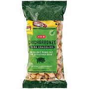 H-E-B Chicharrones Pork Cracklins With Hot Sauce Packets
