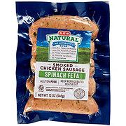 H-E-B Chicken Spinach Feta Sausage