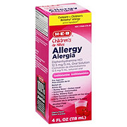 H-E-B Children's Allergy Cherry Flavored