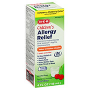 H-E-B Children's Allergy Relief Cherry Flavor Liquid