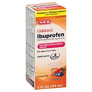 H-E-B Children's Ibuprofen 100 mg Oral Suspension Berry Flavor