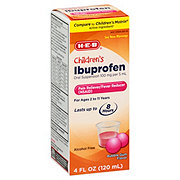 H-E-B Children's Ibuprofen 100 Mg Oral Suspension Bubble Gum Flavor
