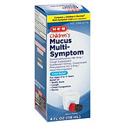 H-E-B Children's Mucus Multi- Symptom Cold Relief Berry Flavor