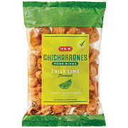 H-E-B Chile Lime Flavor Chicharrones Pork Rinds