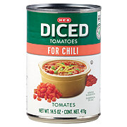 H-E-B Chili Style Diced Tomatoes
