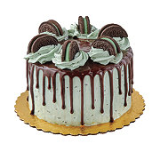 H-E-B Chocolate Cake With Mint Chip Icing