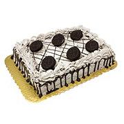 H-E-B Chocolate Cake with Oreo Topping, 1/4 Sheet