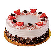 H-E-B Chocolate Cake with Strawberry Bettercreme