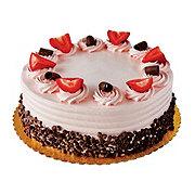 H-E-B Chocolate Cake with Strawberry Buttercream