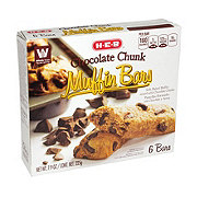 H-E-B Chocolate Chunk Muffin Bars
