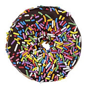 H-E-B Chocolate Iced with Sprinkles Donut
