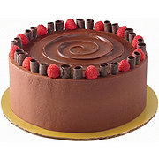 H-E-B Chocolate Raspberry Cake