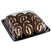 H-E-B Chocolate Roll Cake Party Platter
