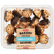 H-E-B Chocolatey Dipped Macaroons