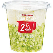H-E-B Chopped Celery Onion