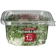 H-E-B Chopped Cilantro & Diced White Onion