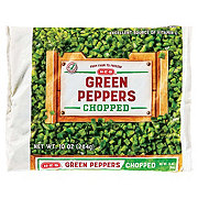 H-E-B Chopped Green Peppers
