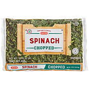 H-E-B Chopped Spinach