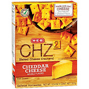 H-E-B CHZ2 Baked Cheese Crackers