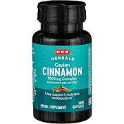 H-E-B Cinnamon 500mg Softgels