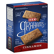 H-E-B Cinnamon Graham Crackers