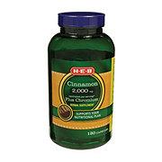 H-E-B Cinnamon With Chromium 2000 mg Capsules