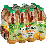 H-E-B Citrus Green Tea 16.9 oz Bottles
