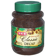 H-E-B Classic Decaf Instant Coffee