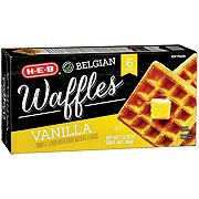 H-E-B Classic Selections Belgian Waffles