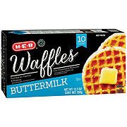 H-E-B Classic Selections Buttermilk Waffles
