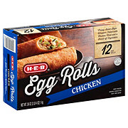 H-E-B Classic Selections Chicken Egg Rolls