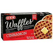 H-E-B Classic Selections Cinnamon Waffles