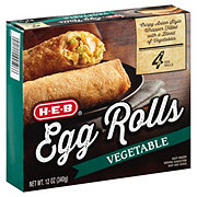 H-E-B Classic Selections Gourmet Vegetable Egg Rolls