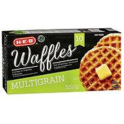 H-E-B Classic Selections Multigrain Waffles