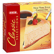 H-E-B Classic Selections New York Cheesecake