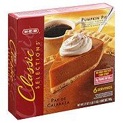 H-E-B Classic Selections Pumpkin Pie