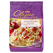 H-E-B Classic Selections Shrimp Scampi Linguini Skillet Meal for Two