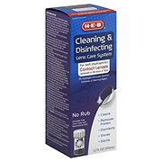 H-E-B Cleaning and Disinfecting Lens Care System