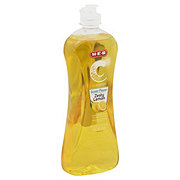 H-E-B Cleaning Ultra Concentrated Scour Power Zesty Lemon Dishwashing Liquid