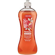 H-E-B Cleaning Ultra Concentrated Skin Softening Pomegranate Scent Dish Soap