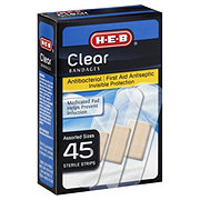 H-E-B Clear Assorted Sizes Bandages
