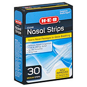 H-E-B Clear Nasal Strips Medium