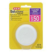 H-E-B Clear Zinc Sunscreen SPF 50 Pod
